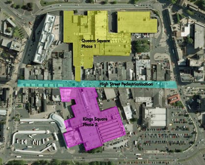 West Bromwich Town Centre Redevelopment Phase 1 & 2